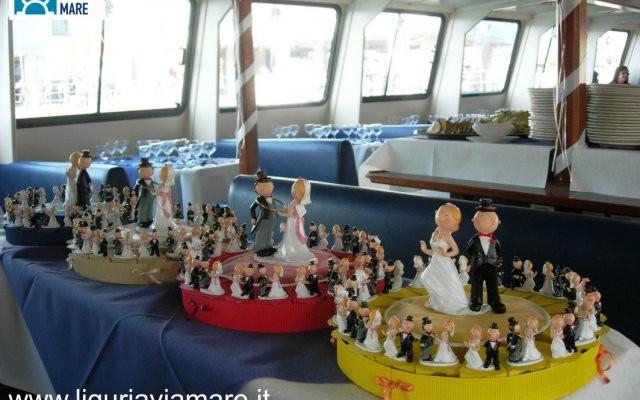 Matrimonio In Barca : Consorzio liguria via mare matrimonio unione civile battello